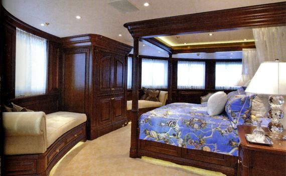 monaco luxury bedding bespoke show the half at bed yacht